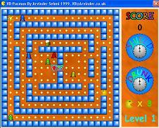 سورس کد بازی پک من با ویژوال بیسیک