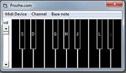 سورس پیانو با ویژوال بیسیک